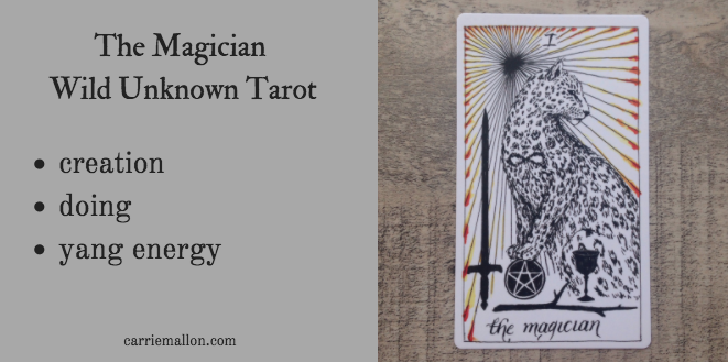 The Magician :: Wild Unknown Tarot Card Meanings | Carrie Mallon