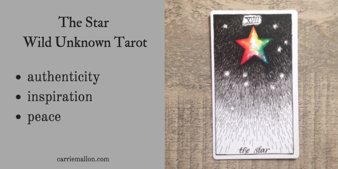 The Star :: Wild Unknown Tarot Card Meanings | Carrie Mallon