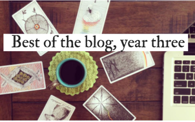 Reversed cards, Flash Fiction and more: Best of the Blog Year 3