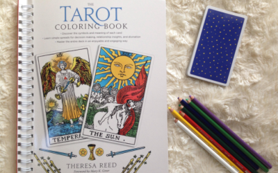 The Tarot Coloring Book: a review (and a giveaway!)