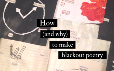 How (and why) to make blackout poetry