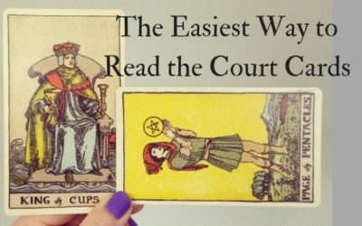 How To Read the Tarot Court Cards (the easiest way)