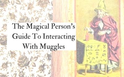 The Magical Person's Guide To Interacting With Muggles