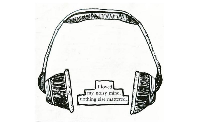 I love my noisy mind