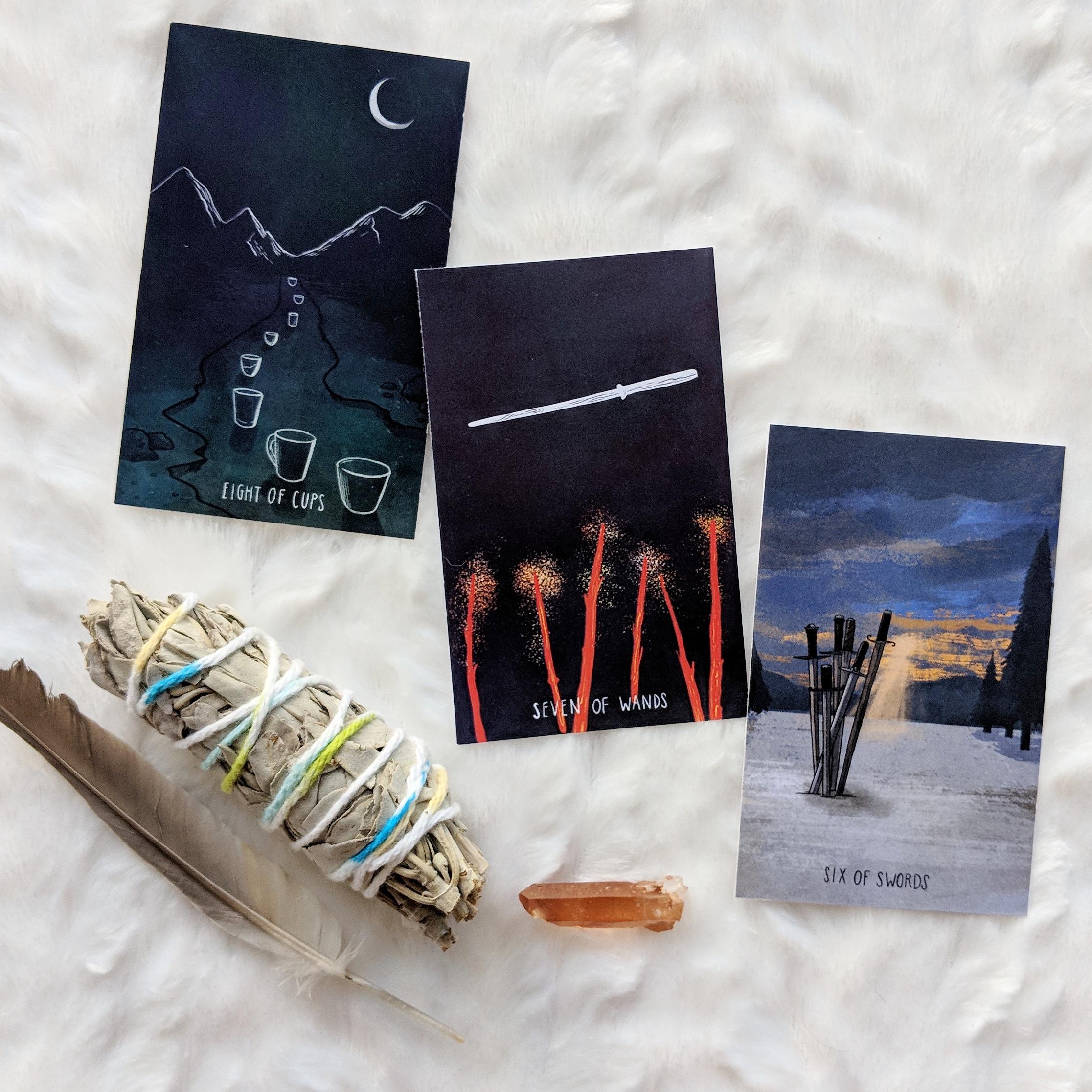 The Spacious Tarot updates, April 2019 | Carrie Mallon