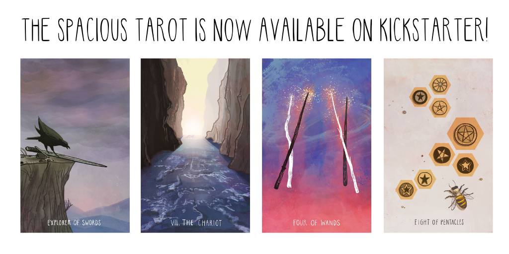 The Spacious Tarot is ready for you!