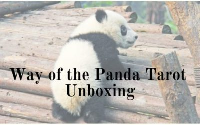 Way of the Panda Tarot Unboxing!