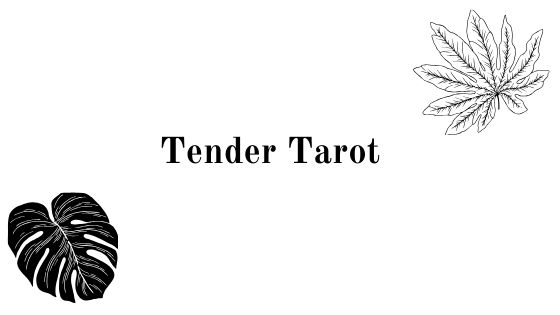 Tender (or tender) tarot