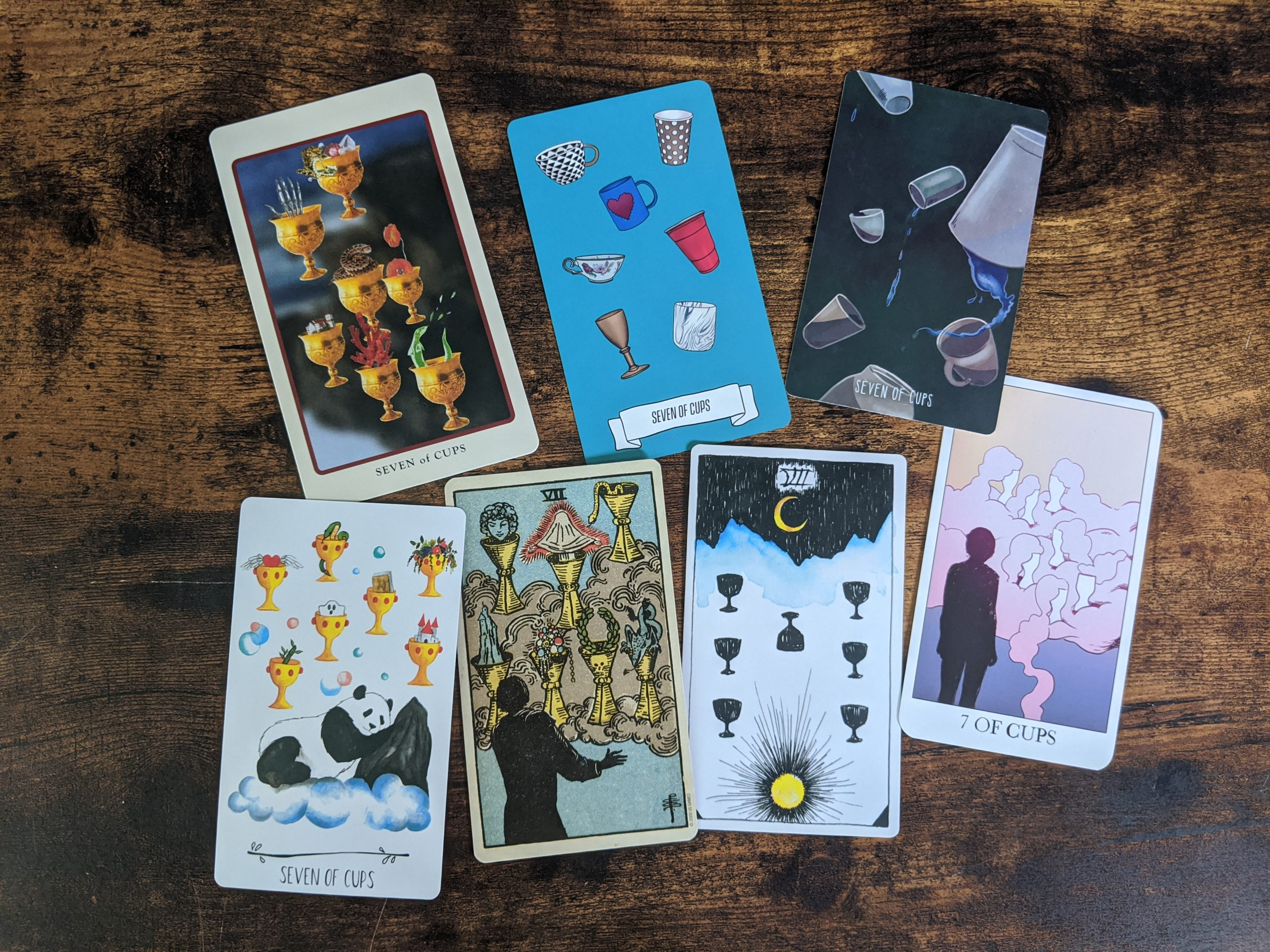7 thoughts on the Seven of Cups