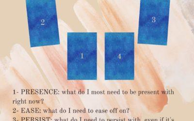 Presence & Persistence tarot spread